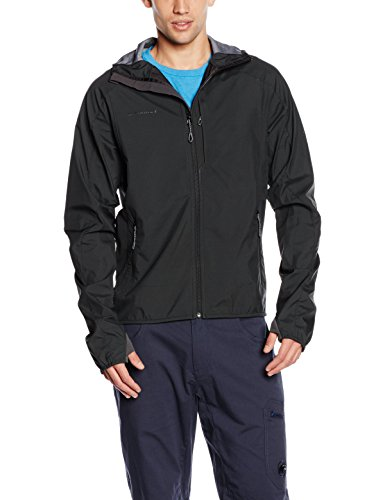 Mammut Herren Kapuzenjacke Ultimate Light SO Hooded, Graphite, XXL, 1010-19970-0121-117 (Kapuzen-parka Klettern)