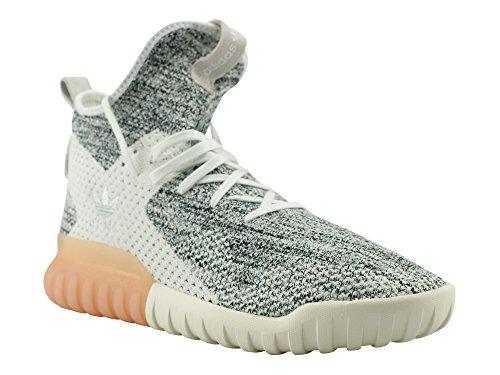 adidas Unisex-Erwachsene Tubular X Primeknit Sneakers Weiß (Rose Crystal White/grey One/core Black)