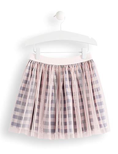 RED WAGON Mädchen Check Tutu Skirt Rock, Blau (Blue/Pink, 122 (Herstellergröße: 7) (Kinder Tutu Red)