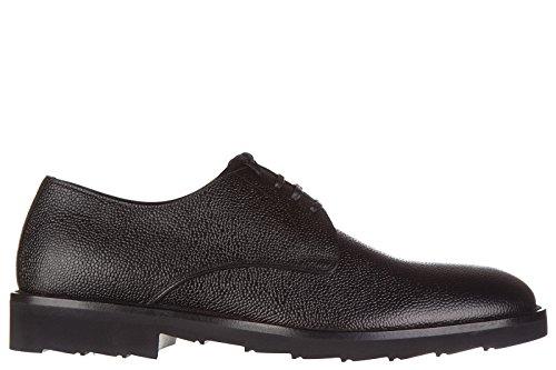 Dolce&Gabbana chaussures à lacets classiques homme en cuir derby bramante noir