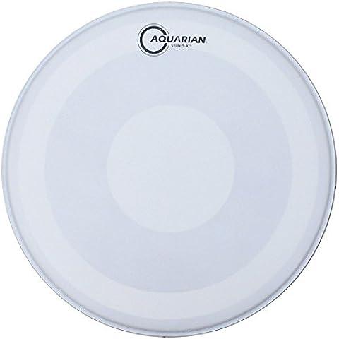 'Aquarian Studio X Batteria, Focus-X Texture, 36CM (14) Head/percussioni Rau con Power Dot - Studio Aquarian 14