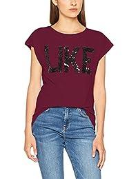 Vero Moda Women's Vmnina Campus Ss Wide Top Jrs T-Shirt