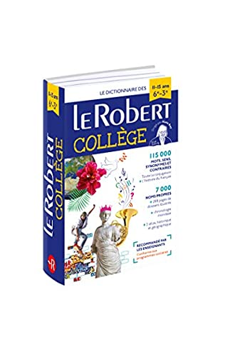 Le Robert College 2018: French Monolingual Dictionary for French Speaking college students.
