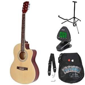 Ts-ideen 53371 Pack Guitare Acoustique et accessoires