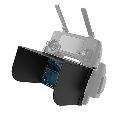 KEESIN Monitor Sun Hood Sunshade for DJI Spark Drone/DJI Mavic Pro/Phantom 3/4/Inspire 1/M600/OSMO Accessories Remote Controller Phone Sun Cover Protector