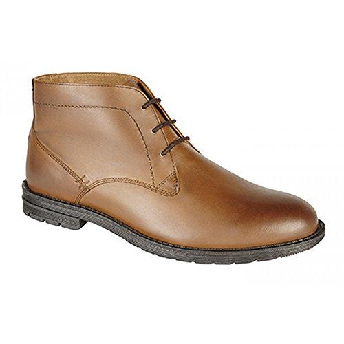 Roamer Bottines Style Desert Boots - Homme Fauve