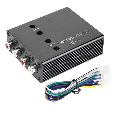 Audiokonverter, Auto Stereo Lautsprecher Horn Audioverstärker Hoch zu Niederfrequenzkonverter