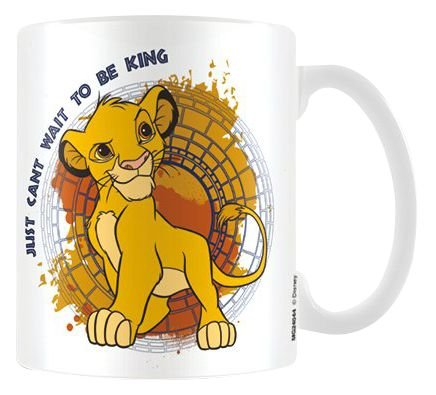 Lion King Just Can't Wait to Be King) Official Boxed Ceramic Mug