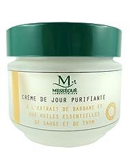 Laboratoire Messegué Crème de Jour Purifiante à la Bardane et Huiles Essentielles de Sauge et Thym Pot de 50 ml...