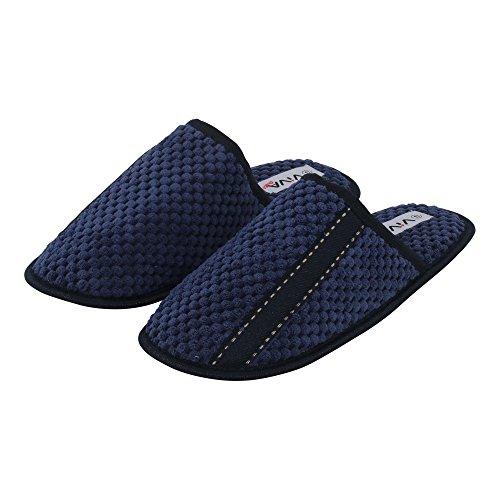 brandsseller, Pantofole uomo Blau