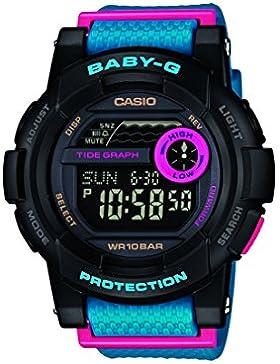 Casio Damen-Armbanduhr Baby G Digital Resin BGD-180-2ER