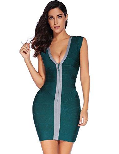 meilun - Robe - Femme Vert
