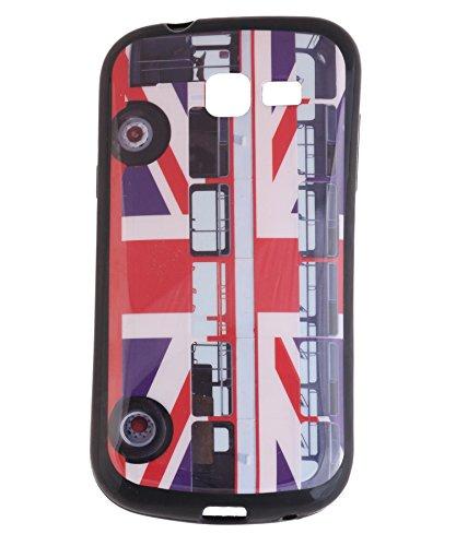 iCandy Matte Finish Soft Rubber Printed Back Cover for Samsung Galaxy Trend GT S7392 - Bus  available at amazon for Rs.125
