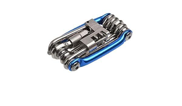 11 in 1 MTB Mountainbike Multitool-Reparatursatz mit Sechskantschl/üssel-Schraubendreher Liyao Multi-Fahrradwerkzeug