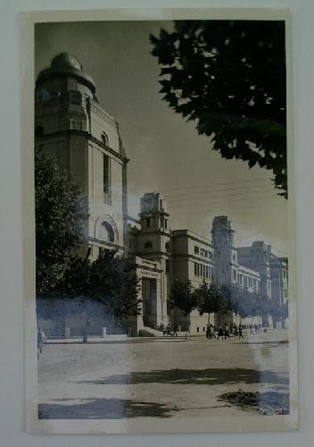 Antigua postal fotográfica. Old photo post card. Nº 93 - VALENCIA - Facultad de Ciencias y Medicina
