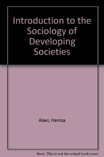 "Introduction to the Sociology of ""Developing Societies"""