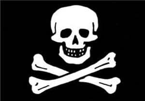 Pirate flag Bumper Sticker