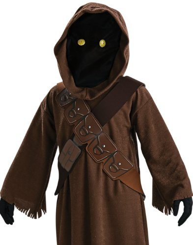 Jawa Kids Fancy Dress Star Wars Scifi Halloween -