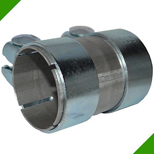 60x 100Tubo Conector de tubos de reparación escape con banda acero abrazaderas