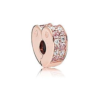 Pandora Moments Pink Mix Arcs of Love Damen Stopper Pandora Rose 11 x 5mm