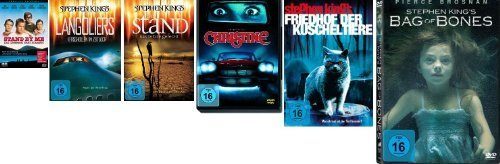 Stephen King`s Christine, Stand by Me, Friedhof der Kuscheltiere, The Stand, The Langoliers, Bag of Bones im Set - Deutsche Ori