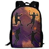 Kinderrucksäcke,Basketball Turniersport Spielen Sie Basketball Premium Daypacks Für Sportliche Wanderathleten