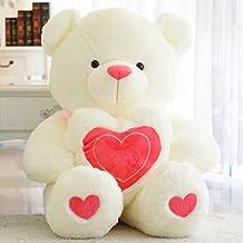 vercart nounours avec cur en ecrivons love ours en peluche xxl teddy bear jouet oursons douce - Ours Coeur