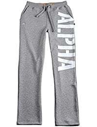 Alpha Industries Hose X-Fit Big Print grau