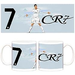 Taza Real Madrid Cristiano Ronaldo retrato