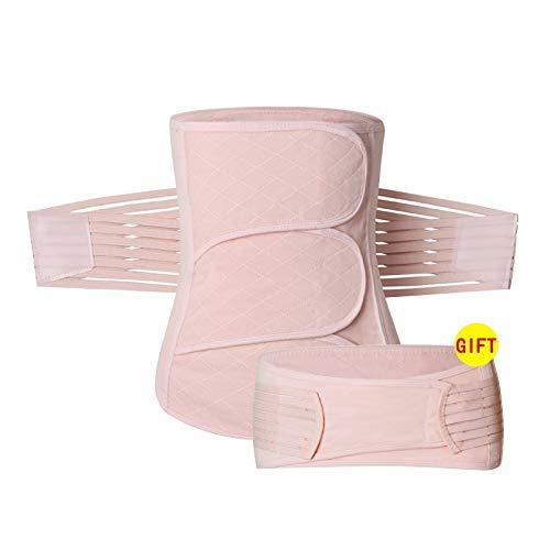 FS Frauen Postnatale Recoery Bauch Taille Atmungsaktiv Gürtel Gürtel Former Für Frauen Nach Der Geburt Und Mutterschaft Abnehmen (Color : Pink, Size : XXL) -