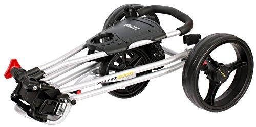 BULLET Chariot de golf 5000Professional, pliable avec système à clic avec facile de Argent