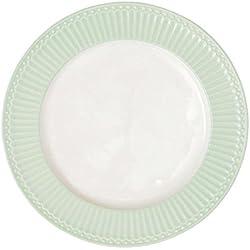 GreenGate Teller - Dinner Plate - Alice Pale Green 26 cm