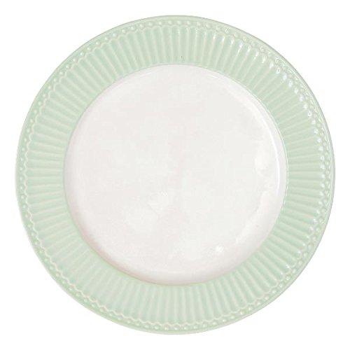 GreenGate Teller - Dinner Plate - Alice Pale Green 26 cm Alice Teller