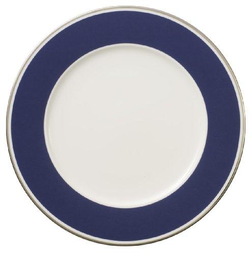 27cm Speiseteller 'Anmut My Colour' aus Premium Bone Porzellan Farbe: Ocean Blue