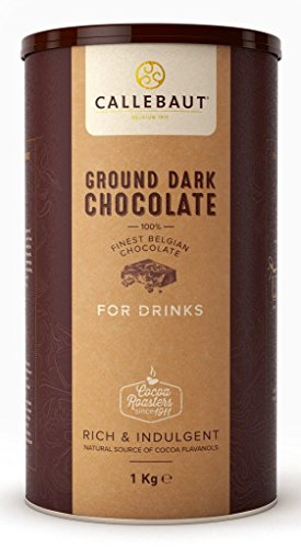 Callebaut - Ground Dark Chocolate, dunkle Trinkschokolade 50,1{7ad088553c428a241927979549381867bc590af2dd51728d888febcd4fbf5f30} Kakao, (1x1kg)