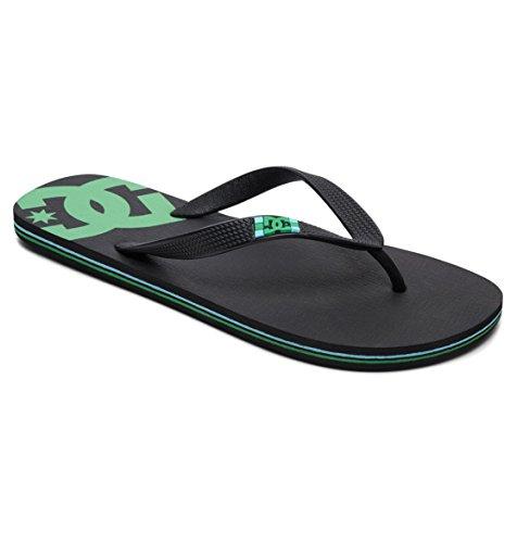 DC Shoes Spray - Flip-Flops - Sandalen - Männer - EU 40.5 - Schwarz (Sandalen Dc Shoes Schwarz)