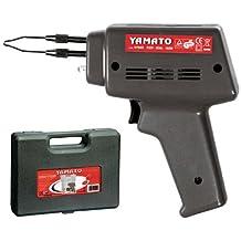 Yamato 7170045 - Soldador con pistola y maletín, 100 W