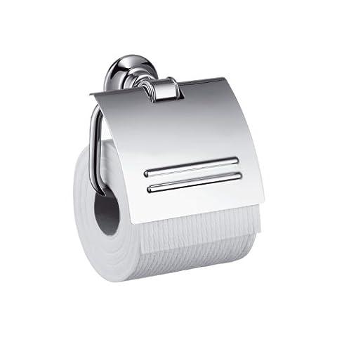Hansgrohe 42036000 Papierhalter Montreux mit Deckel, verchromt