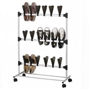 Lakeland rangement pour chaussures vertical roulettes - Rangement chaussures amazon ...