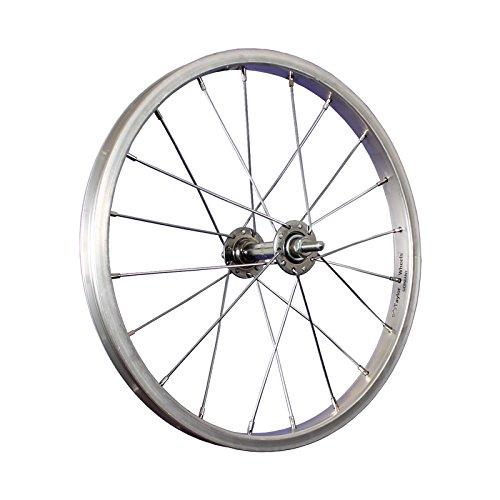 Taylor-Wheels 16 Zoll Vorderrad Alu Kastenfelge/Vollachse - Silber