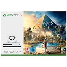 Xbox One S 500GB Konsole - Assassins's Creed Origins Bundle