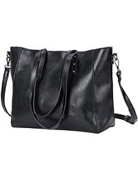 Women Top Handle Satchel Handbags Shoulder Bags Tote Purse By Kuston