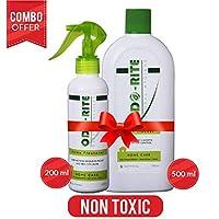 ODO-RITE Combo Pack [Natural Floor Cleaner-500ml + Natural Home Freshener-200ml]