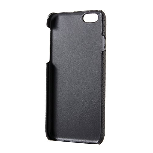 BING Für IPhone 6 / 6s, Snakeskin Texture Hard Back Cover Schutzmaßnahmen zurück Fall BING ( Color : Pink ) Black