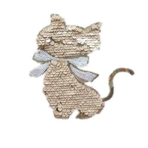 LEVEL GREAT Cartoon-Muster DIY Sequin Kleidung Aufnäher Pullover Applikationen Craft Kostüm Paste Zubehör