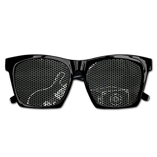 Vogue Vintage Rock (EELKKO Mesh Sunglasses Sports Polarized, Love The Rock Music Themed Sketch Art Sound Box and Text On Chalkboard,Fun Props Party Favors Gift Unisex)