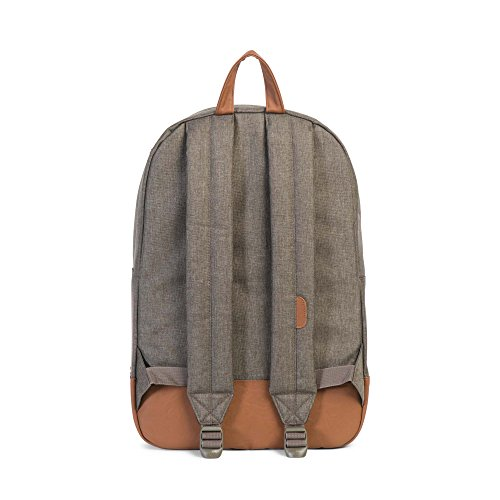 Imagen de herschel supply co. patrimonio , canteen crosshatch/tan synthetic leather negro  10007 01247 os alternativa