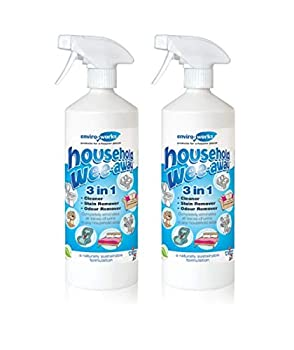 Enviro Fonctionne 2x 1l Wee-Away 3-in1Probiotique Ménage Les Taches et Anti-odeurs