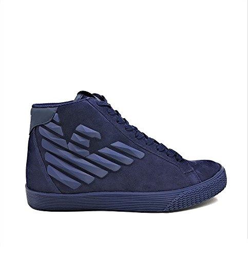 Chaussures D'hiver Pour Hommes Emporio Armani Art. 248010 7a299 06935 Col. Photo Mis. Choisissez Des Photos
