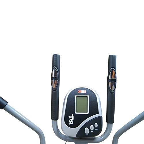41Wm784bNjL. SS500  - Pro XS Sports 2-in1 Elliptical Cross Trainer Exercise Bike-Fitness Cardio Weightloss Workout Machine-With Seat + Pulse Heart Rate Sensors